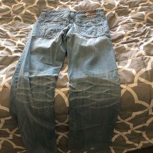 Men's size 32 boot cut bigstar jeans